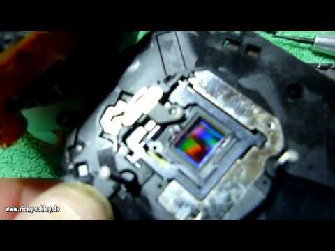 Ricoh Caplio R7 Digitalkamera zerlegt geschlachtet dismounted disjointed