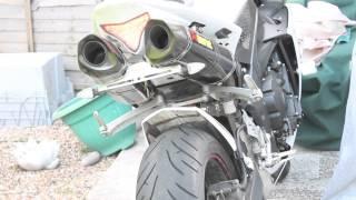 1. 2011 Yamaha R1 Akrapovic exhaust