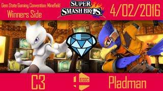 Minefield: C3 (Mew2) vs Pladman (Falco) help me improve my falco game (im pladman)