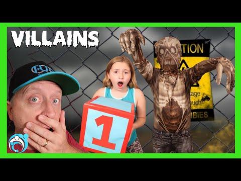 VILLAINS Season 6 Ep 4 Zombie Apocalypse! (Thumbs Up Family)