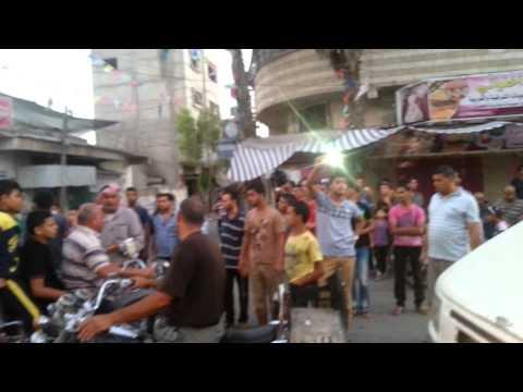فرحة ابناء عبسان الكبيرة بالنصر وانتهاء الحرب على غزة .. خانيونس 2014