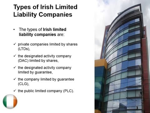 Open a Private Limited Liability Company in Ireland