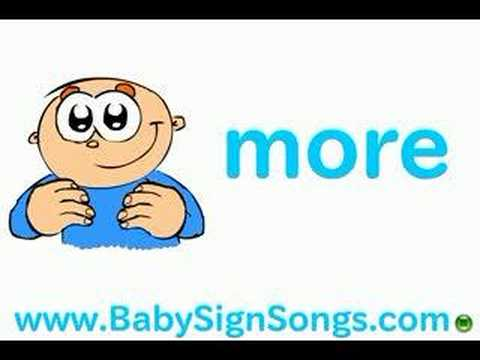 Baby Sign Language: More Milk Please