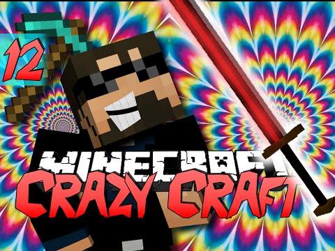 Minecraft CRAZY CRAFT 2.0 | New Insane Weapon [12]