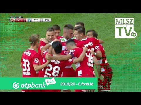 6. forduló: DVTK - ZTE 1-0 (1-0)