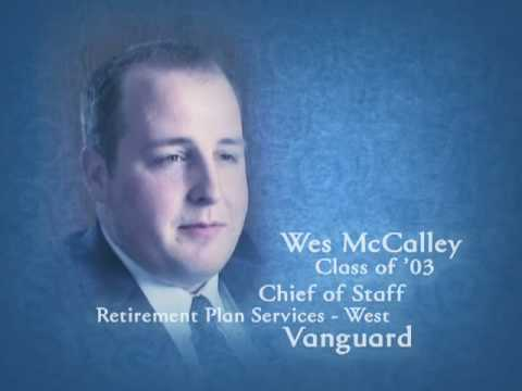 Wes McCalley, class of 2003 on his NAU-FCB education