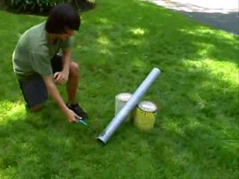 Tennis ball cannon