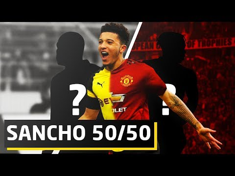 REPORTS: Sancho 50/50 To Sign For United | Man Utd Transfer News