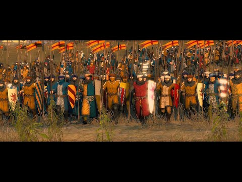 Battle Of Arsuf 1191 Ad | Total War: Attila Epic Movie | Mod: Medieval Kingdom