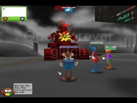 Toontown VP glitches