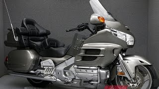 10. 2008  HONDA  GL1800 GOLDWING W/ NAV, ABS, AND COMFORT - National Powersports Distributors