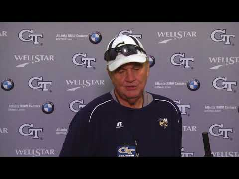 Video: #VTvsGT: Post-Practice Press Conference (11-8-17)