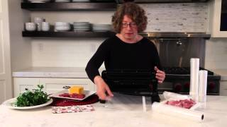 Vacuum Sealer Demo Video Icon