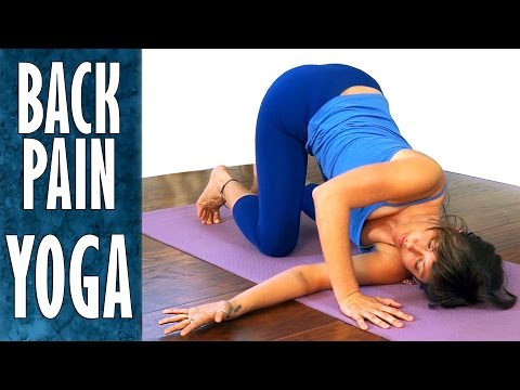 Yoga Stretches For Back Pain Relief, Sciatica, Neck Pain & Flexibility, Beginners Level Workout