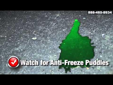 how to fix a glycol leak