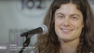 "Download Lagu BØRNS ""Lime In The Coconut"" Live in the CD102.5 Big Room Mp3"