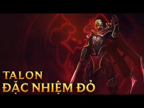 Talon Đặc Nhiệm Đỏ - Crimson Elite Talon