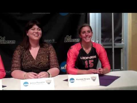 Volleyball post-match press conference