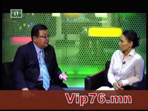 """C1-""""Vip"""" ярилцлагын нэвтрүүлэгт С.Эрдэнэ гишүүн оролцов"""