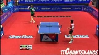 European Championships: Viktoria Pavlovich-Liu Jia