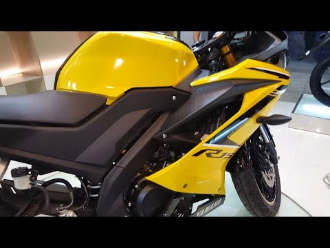 New Yamaha YZF R15 V3- 2018  | Yellow | Spece | Price & Bike
