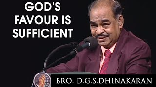 Download Lagu God's Favour Is Sufficient (English - Hindi)   Dr. D.G.S. Dhinakaran Mp3