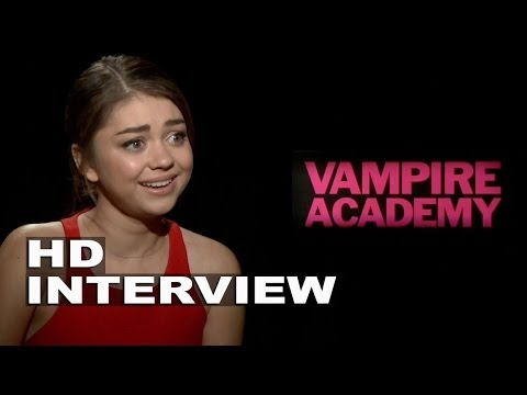 Vampire Academy: Sarah Hyland Official Movie Interview