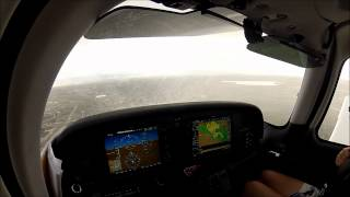 GoPro [HD] | Rainy Approach! | Centennial/Lamar, CO | Cirrus SR20 G3 Perspective