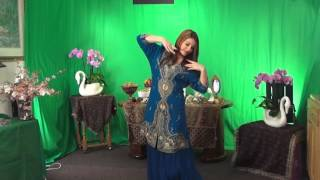 Sahar رقص نوروزی سحر در تلویزیون پیام جوان