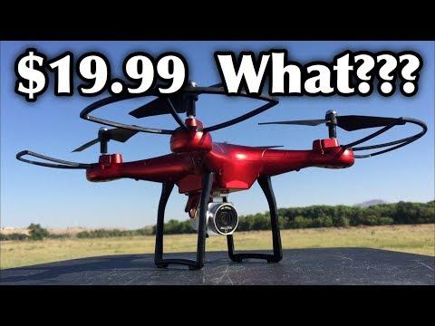 SMRC S10 2.4G 4-AXIS HD Camera Remote Control Quadcopter Drone