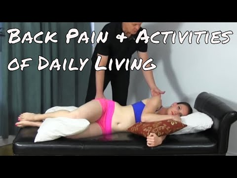 Back Pain and Activities of Daily Living