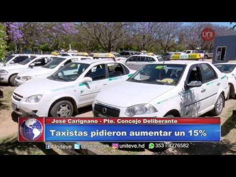 Taxistas piden aumento.
