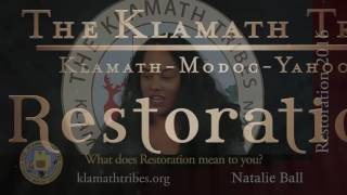 Restoration 2016 - What Does Restoration Mean to You?- Natalie Ball
