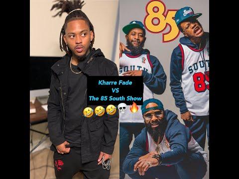 85 South Show Part 2! Kharre Fade ROAST SESSION 😹 🥊 #The85southshow
