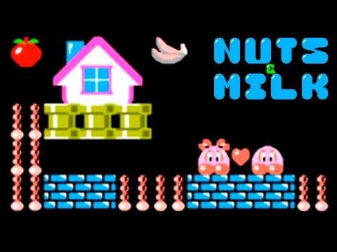 Nuts & Milk / Молочные Орехи / Milk Nuts прохождение (NES, Famicom, Dendy) (видео)