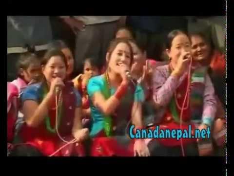 nepali new look geet - 1, Deurali ko bhatti pasal(Ramji khad and Muna thapa) 2,Tite kareli le (Raju gurung and Muna thapa) 3,Dharti golo cha (Khuman adhikari and Bishnu Maji) 4,Der...