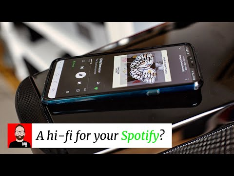 A hi-fi for your Spotify?