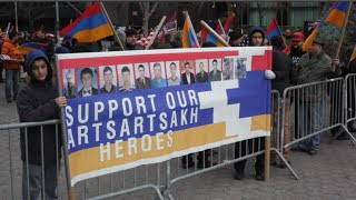 New York Armenians Protest against Azerbaijan's aggression in Artsakh - Nagorno-Karabakh