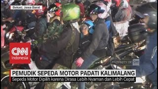 Video Pemudik Sepeda Motor Mulai Padati Kalimalang MP3, 3GP, MP4, WEBM, AVI, FLV Juni 2018