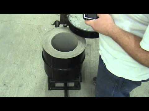 Homemade Foundry Furnace