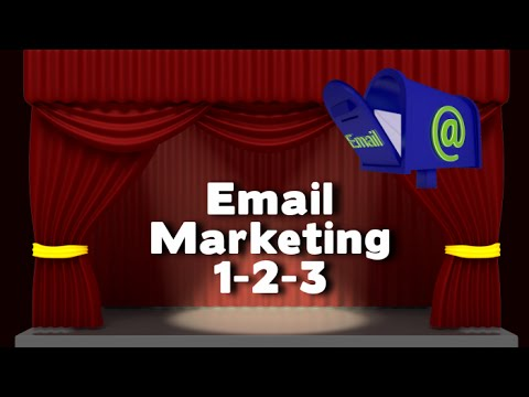 Watch 'Email Marketing 1 2 3 - YouTube'