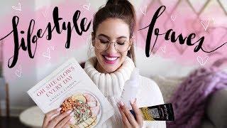 2017 LIFESTYLE FAVORITES! MOST USED Skincare, Fashion & More!   Jamie Paige