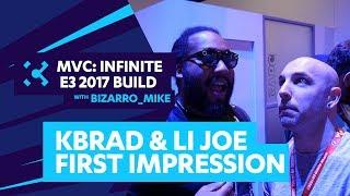 KBrad and LI Joe share their thoughts on Marvel Vs Capcom Infinite at E3 2017. Kbrad removes his glasses and discovers what LI...