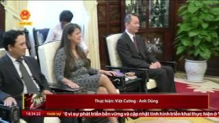 Chủ tịch nước Trần Đại Quang tiếp Giáo sư Carlos Alberto Torres cùng lãnh đạo Vietnam Report