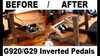 Budget Gaming - Logitech G920 & G29 Flipped Pedals