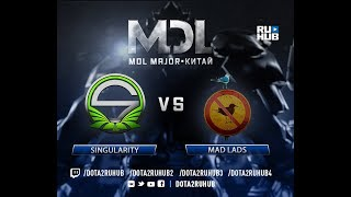 Singularity vs Mad Lads, MDL EU, game 2 [Eiritel, 4ce]