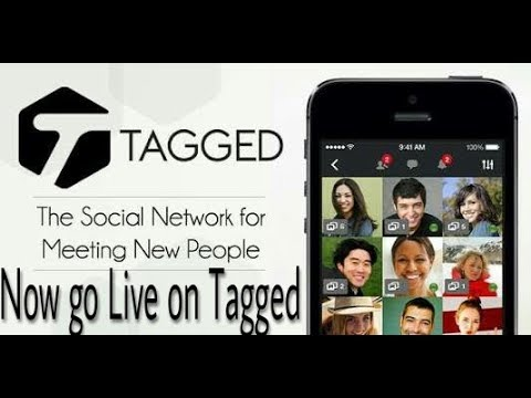 How To Go Live On Tagged From Android Phone