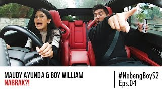 Video Maudy Ayunda HAMPIR NABRAK Nyupirin Boy William - #NebengBoy S2 Eps. 4 MP3, 3GP, MP4, WEBM, AVI, FLV November 2018