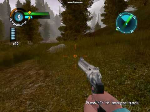 Cabelas Big Game Hunter Alaskan Adventure Hunting Mountan Goat (видео)