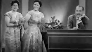 Video You Bet Your Life #57-01 Lena & Mercedes, the confusing Portuguese sisters ('Food', Sep 26, 1957) MP3, 3GP, MP4, WEBM, AVI, FLV Juni 2018